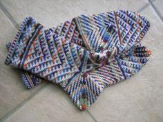 .à la turque,çorapfrom  :Around the World in Knitted Socks: 26 Inspired Designs