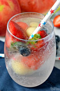 Patriotic Tonic: Fruit Infused Sparkling Water - A perfect healthy ...