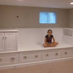 Large Storage Bench - Bed by Meisterbuilders, Inc.