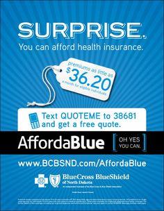 Health Insurance Print Ads