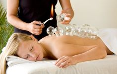 What is used cupping therapy for