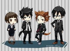 anime psycho pass | Psycho-Pass Characters: