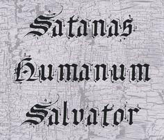 Satnas Human Salvator Font