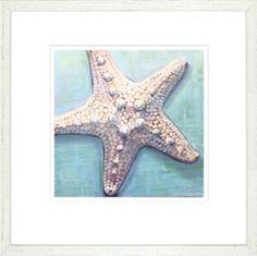 Nautical/Beach Wall Art| Starfish Art
