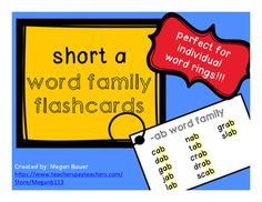 The cards are 3x5in (same as a standard index card), and can be printed, laminated, and whole punched in the top left corner.  Put all words on a metal or plastic ring so that students can read them over and over to build automaticity!  Each page in this document contains 4 of the same card for easy printing and cutting.