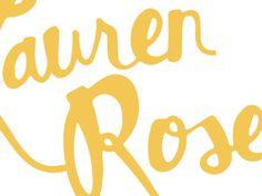 Hand drawn logo