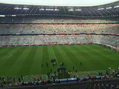 El Allianz Arena una hora antes del juego