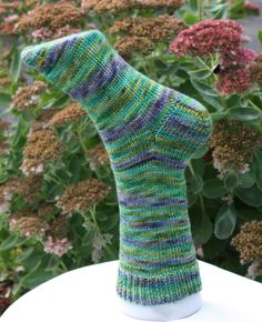 Strike Up the Band Socks knitting pattern by KnitamazooFiberArts, $5.00