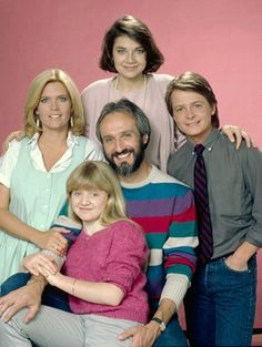 Family ties, Blomsterbørns børn, family portrait, great tv show, haha, makes me giggle, dear memories, history, photo.