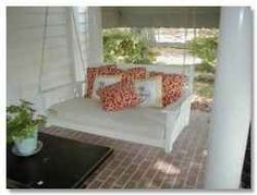 Are you looking for a beautiful Porch Swing Bed? I have been dreaming of a porch swing bed for years. The ideal morning starts with this porch...