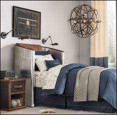 Find The Best Ideas For A Bedroom Decoration With Plane Theme More High