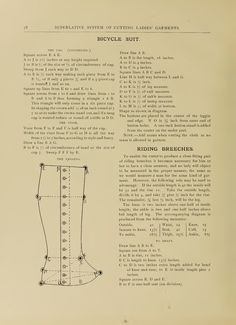 """What We Did When The Power Went Out (Sewing In Walden): """"Leggins"""" (gaiters) and riding breeches (1897)"""