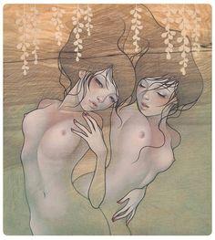 Audrey Kawasaki: la inocencia del erotismo - Cultura Colectiva - Cultura Colectiva