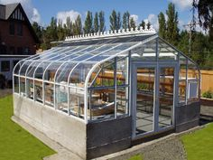 green house think i could make one out of recycled materials - Commercial Greenhouse Kits