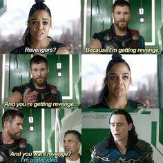 Revengers! Thor should not name stuff | Thor Ragnarok, Avengers,, Marvel