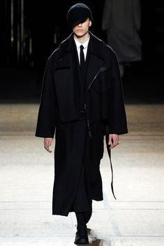 Damir Doma Fall 2012 Menswear Fashion Show
