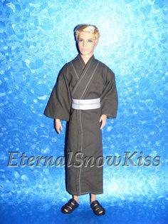 How to make Kimono / Yukata for Dolls