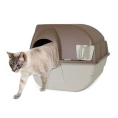 Omega Paw Self-Cleaning Litter Box, Regular, Taupe by Omega Paw, http://www.amazon.com/dp/B0002DK2A8/ref=cm_sw_r_pi_dp_frZ0rb020VRB9