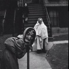 Scary, old-fashioned Halloween costumes; the way it's supposed to be.
