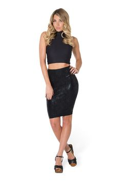 I Eat Mice Pencil Skirt by Black Milk Clothing $80AUD ($75USD)