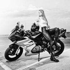 Sportbikes Hot Girls On