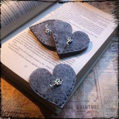 segnalibro feltro... ------------------------- Bookmark felt ...