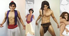 Incredible Cosplayer Transforms Himself Into Our Favourite Disney Characters - 9GAG