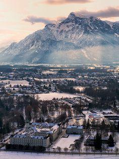 Salzberg - Winter Wonderland   Flickr - Photo Sharing!
