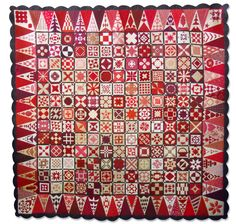 Red Dear Jane (R) 2014 - Stitchin' Heaven is your premier Texas quilt shop