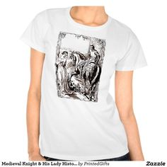 Medieval Knight & His Lady History-lover's Shirt