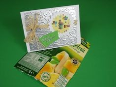 Video-Tutorial: Osterkarte mit Recycling - Material basteln DIY - 2014 card #7