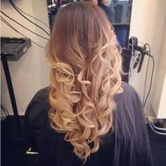 Long Curly Hairstyles 2014: Ombre Hairstyles for Girls // #hairinspiration