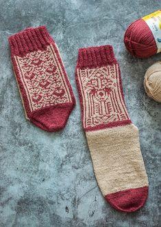Chaak Tun Socken, R0425   Schachenmayr Mayan Symbols, Greek And Roman Mythology, Stockinette, Needles Sizes, Aztec, Christmas Stockings, Free Pattern, Two By Two, Socks