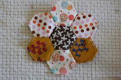 Paper Pieced Hexagons