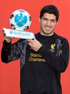 Suarez named Barclays Player of the Month - Liverpool FC - LFC Online