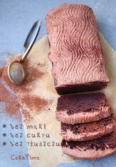 Ciasto czekoladowe bez mąki, tłuszczu i cukru!