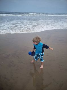 """Looking for a great place to day hike with kids? Try a beach. Read about more tried and true diversions for day hiking with children in """"Hikes with Tykes: Game and Activities."""""""