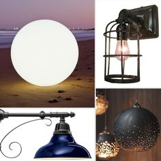 Best Outdoor Lighting For Summer 2012...MOST OF THESE I WOULD PUT INSIDE...