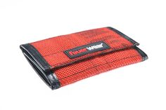 Wallet Ted made out of used fire hose http://www.feuerwear.de
