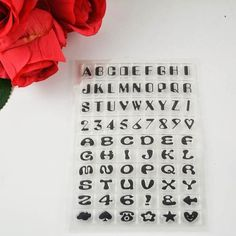Silicone Transparent Stamp For Scrapbooking/Card Making
