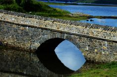 Classic stone bridge, Scottish Highlands