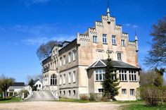 for the first time, the state office of historic preservation in schwerin, the capital of the northeastern state of mecklenburg-western pomerania, germany has taken an inventory and inspected its crumbling legacy. officials discovered that more than 400 feudal structures are in poor condition, require renovation or are in the process of falling apart. shown here is wrangelsburg castle.