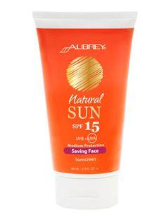 Aubrey Organics Natural Sun Saving Face Sunscreen