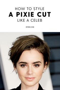 """How to style the Pixie cut? Despite what we think of short cuts , it is possible to play with his hair and to style his Pixie cut as he pleases. For a hairstyle with a """"so chic"""" and pointed… Continue Reading → Pixie Cut Styles, Long Pixie Cuts, Short Hair Cuts, Grown Out Pixie Cut, Pixie Cut Thin Hair, Messy Pixie Cuts, Long Pixie Hairstyles, Short Pixie Haircuts, Cool Hairstyles"""