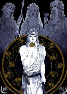 Greek Goddess Art, Greek Gods And Goddesses, Roman Mythology, Greek Mythology, Mythological Monsters, Hades And Persephone, Ancient Greece, Concept Art, Drawings