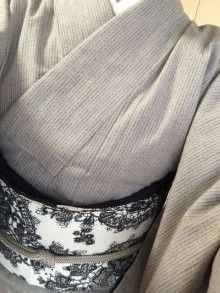 伊勢木綿とラクロアの帯