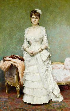 Raimundo de Madrazo y Garretta (1841 - 1920) - Before the ball, 1881