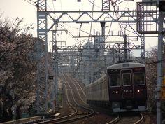 阪急神戸線岡本ー御影間