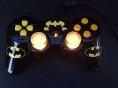 Custom Batman Playstation Controller. https://www.facebook.com/pages/Ricks-Custom-Controllers/525728804122995