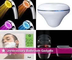 8 Unnecessary Gadgets For the Bathroom